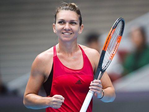 Reacția incredibilă a Simonei Halep, după ce Irina Begu și Monica Niculescu au câștigat la meciul dublu și au bătut Cehia!