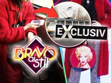 """Ce vedetă de la """"Bravo, ai stil!"""" a purtat în TRAMVAI o ţinută sofisticată din emisiune?  Toţi călătorii şi-au dat coate când au văzut-o aşa! VIDEO EXCLUSIV!"""