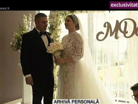 Imagini în exclusivitate de la nunta cântăreței de muzică populară Marcela Fota! S-a căsătorit după 13 ani de relație