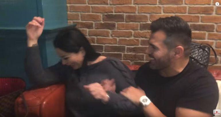 Fostul logodnic al Ralucăi Podea, Florin Pastramă, trăgea de Brigitte Sfăt de acum o lună! Avem DOVADA VIDEO