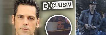 """Lavinia Pârva are """"bodyguard"""" de când este însărcinată! Ce atitudine are Bănică jr. atunci când iese cu soția lui la restaurant! VIDEO EXCLUSIV"""