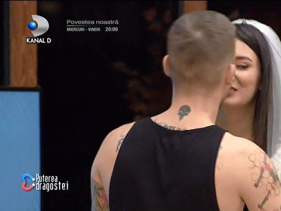 """Nuntă la """"Puterea Dragostei""""! Viorela și Ștefan și-au unit destinele! Cine a oficiat ceremonia"""