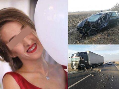 Sfâșietor! Andreea a murit în accidentul din Avrig! Medicii n-au mai putut să o salveze