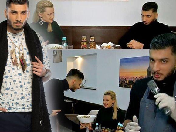 """Adrian de la Puterea Dragostei a gătit pentru Larisa! Cum a reacționat el când a fost întrebat despre fosta iubită: """"Cine e Raluca?"""""""