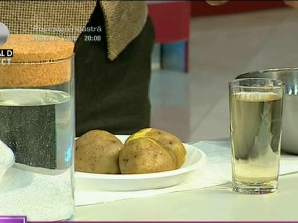 Specialistul in detoxifiere Cesur Durak te învață cum să prepari băutura de cartofi care curăță și previne bolile de colon