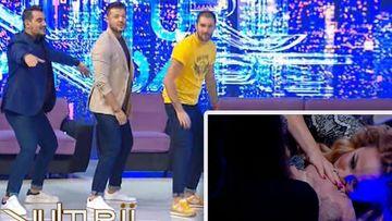 """Ștefan Stan, sărut pasional cu Rocsana Marcu, la """"Vulturii de noapte"""", în această seară, la Kanal D!"""