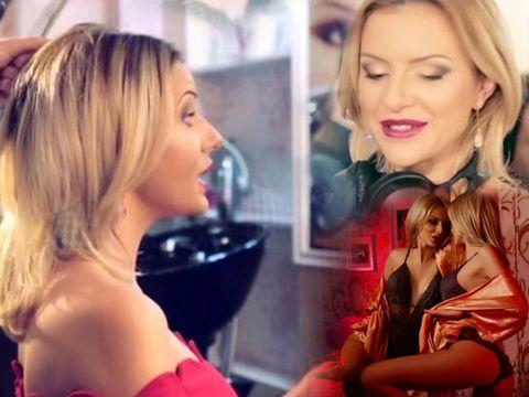 """Larisa de la """"Puterea Dragostei"""" a cântat imnul studioului de videochat la care a făcut avere"""