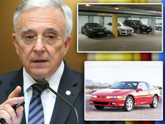 Mugur Isărescu câștigă 14.000 euro pe lună dar conduce o mașină veche de 26 de ani!
