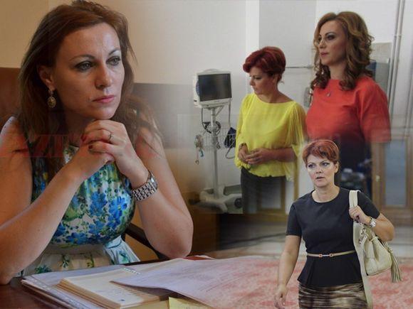 """Cum arată fosta soție a lui Claudiu Manda și cât de """"prietenă"""" este cu Lia Olguța Vasilescu! Adina Turcu este manager al unui spital din Craiova"""