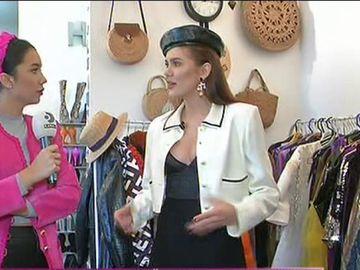 Acasă la Emily Burghelea! Concurenta are un dressing impresionant şi haine prin toată casa