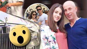 Viitorul ginere al lui Mugur Mihăescu lucrează la Rolls Royce! Fiica actorului are o relație de câțiva ani cu un coleg de facultate
