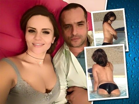 """Cristina Șișcanu: singurele și cele mai obraznice imagini topless făcute vreodată! Mădălin: """"Pur și simplu mi s-a tăiat respirația"""""""