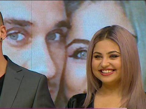 """Pluşica şi Daniel, pentru prima oară împreună la TV! """"Aş fi vrut ca ea să ajungă în Finala Puterea Dragostei şi să câştige"""""""
