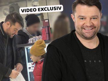 Cum arată băiețelul lui Andrei Duban! Puștiul este la fel de agitat ca tatăl său VIDEO EXCLUSIV