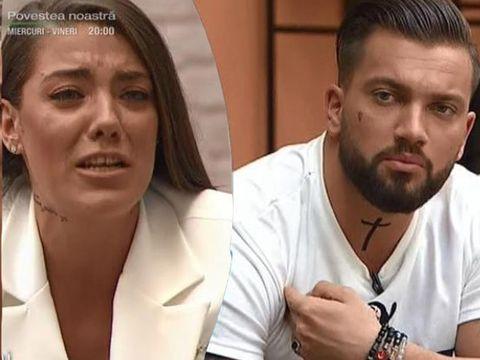 """Roxana, criză de plâns la """"Puterea Dragostei""""! Schimb de replici halucinante cu Andy: """"I-ai luat mâna lui Adrian și ti-ai pus-o pe fund!"""""""