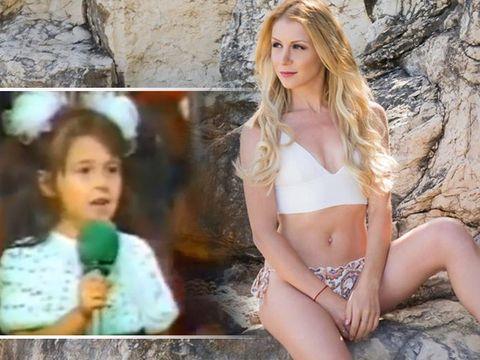 Cum arăta Betty Stroe la 4 ani, la prima apariție pe scenă! Cântăreața a lansat ieri o nouă piesă hot VIDEO