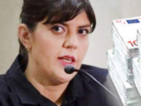 Ce salariu va avea Laura Kovesi ca procuror şef al Parchetului European! Veniturile ei vor fi de trei ori mai mari decât cele din România!