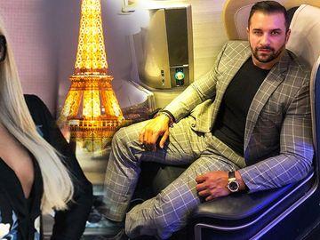 Alex Bodi a părăsit ţara după despărţirea de Bianca Drăguşanu! El s-a dus la Paris, la acelaşi hotel de 5 stele unde a răsfăţat-o pe Bianca la prima lor excursie romantică!