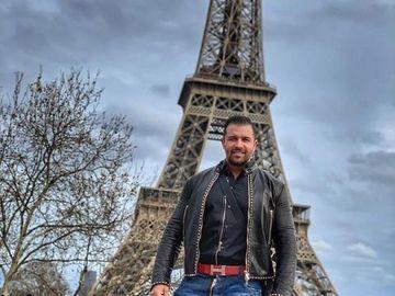 """Cu cine s-a dus Alex Bodi la Paris după despărţirea de Bianca Drăguşanu: """"La un pahar de cognac"""" FOTO"""