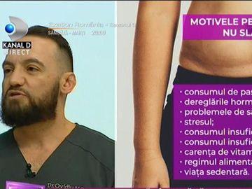 De ce nu reușești să slăbești, deși ții dietă și faci sport? Dr Ovidiu Peneș îți spune ce se întâmplă cu organismul tău