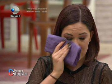 """Raluca a plâns la """"Puterea Dragostei""""! Este geloasă pe Roxana! Ricardo a avut o reacție violentă"""