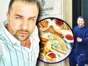 Alex Bodi a cheltuit o sumă incredibilă pe un mic dejun la Paris! Fostul iubit al Biancăi Drăguşanu a dat 24 de euro pe ouă ochiuri, iar nota a fost de 131 de euro! FOTO