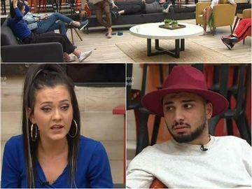 Imagini halucinante din Casa Puterea Dragostei: Adrian a sărit să o lovească pe Bianca. Ce s-a întâmplat