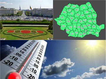 Meteo pe o lună pentru toate regiunile și prognoză specială pentru Municipiul București
