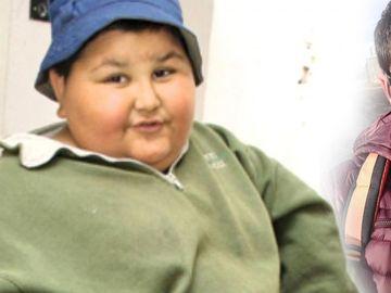 La 7 ani avea 100 kg, dar Gabriel a slăbit spectaculos şi acum, la 18 ani, are iubită sexy! FOTO