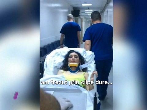"Alexandra de la ""Bravo, ai stil!"", victima unui accident rutier grav! ATENTIE! Imagini care va pot afecta emotional!"