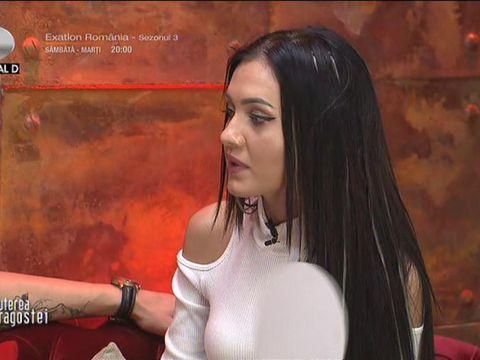 Bianca de la Puterea Dragostei n-a vrut să se sărute cu Alexandru! Ce le-a spus fetelor când s-a întors din camera roșie