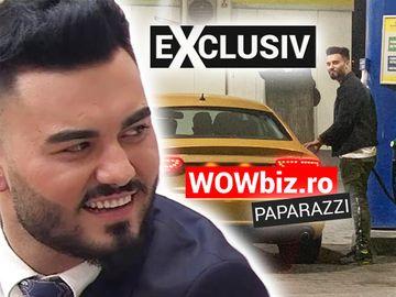 Jador conduce o maşină de lux! Uite cum l-au surprins paparazzii WOWbiz.ro! Ai mai văzut culoarea asta la vreun autoturism? FOTO EXCLUSIV!