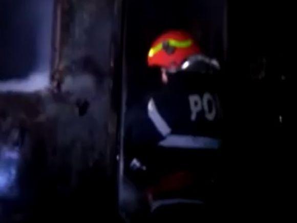 Incendiu la gară! Pompierii intervin de urgență