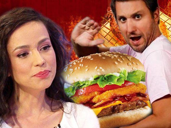Andi Moisescu primește cadou de ziua lui un burger! Oare Olivia Steer a văzut aceste imagini?