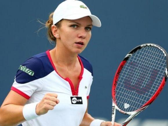 Simona Halep a învins-o pe Polona Hercog şi s-a calificat în optimi la turneul de la Miami
