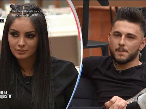 """Simina aruncă bomba la Puterea Dragostei! Ce a vorbit cu Jador după ce s-a oficializat relația ei cu Alex Zănoagă! """"Îi dau stres maxim"""""""