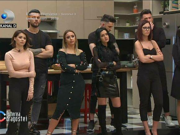 Andreea Mantea a anunțat la Puterea Dragostei decizia în cazul concurenților care au ieșit în club!  Ce pedeapsă au primit aceștia