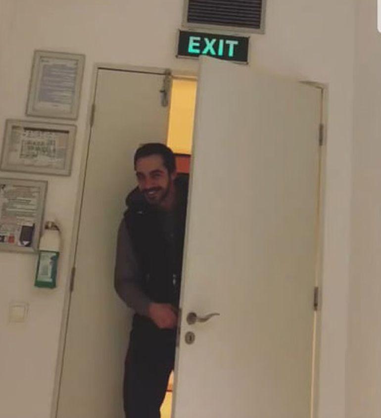 Vizită-surpriză pentru Andreea Bălan! S-a deschis ușa rezervei și... a intrat el