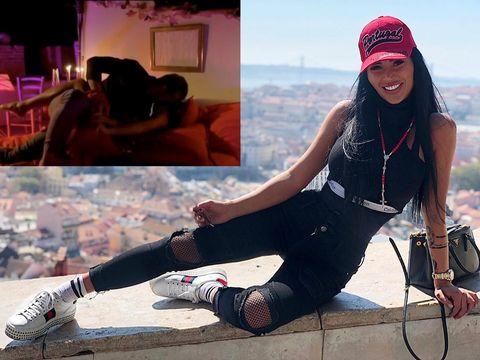 Daniela Crudu, scene fierbinți, în pat! Momentul a fost filmat