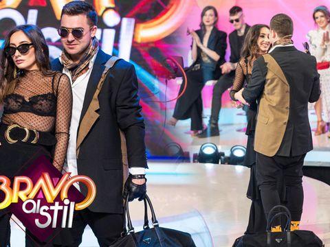 """Iubitul Nadinei, cea mai frumoasă declarație de dragoste, chiar în fața juraților emisiunii """"Bravo, ai stil!"""""""