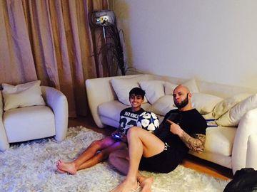 """Giani Kiriţă şi-a şocat fiul când i-a spus că va semna cu Steaua: """"Timp de câteva minute nu a spus nimic"""""""