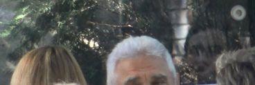 Don Giovani Becali și-a tras look de muschetar și a ieșit la terasă cu fratele său! Impresarul și-a etalat celebrul ceas de aur VIDEO EXCLUSIV