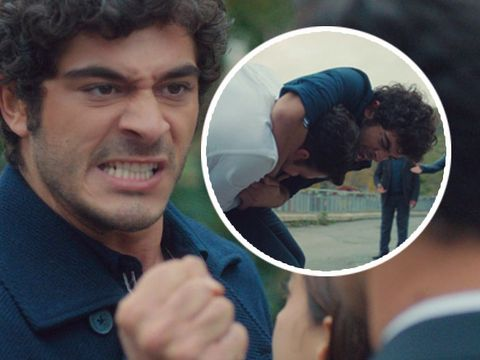 """Baris si Selim, confruntare în plina stradă, pentru Filiz. Diseară, în """"Povestea noastră"""", la Kanal D, de la ora 20:00"""