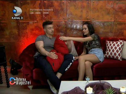 """Bianca și Alexandru, un nou cuplu la Puterea Dragostei?! """"Îmi place de tine"""""""