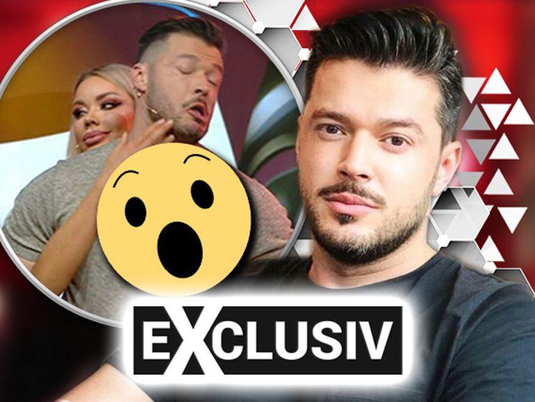 Bianca Drăgușanu l-a luat la palme pe Victor Slav! La scenă a asistat și Cătălin Botezatu! Imagini exclusive
