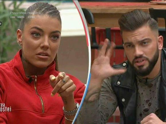 """Scandal monstru între Andy și Roxana la Puterea Dragostei! Ce a declanșat jihadul între cei doi! """"Dai la poartă, poarta e foarte mare, n-ai cum să ratezi"""""""