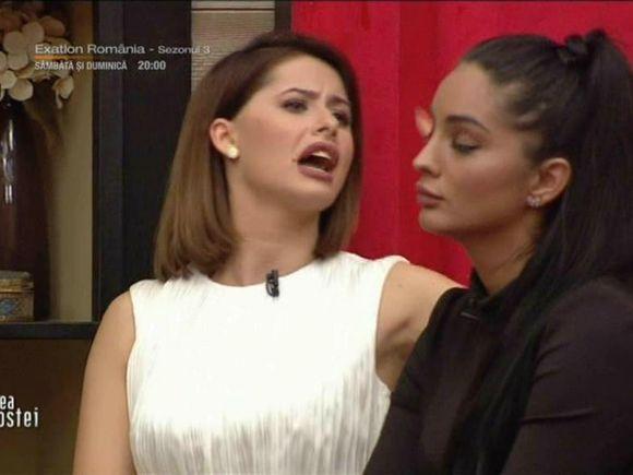 """Scandal la Puterea Dragostei! Lavinia a făcut-o praf pe Larisa: """"O femeie cu coloană vertebrală nu ar sta cu un bărbat ca Adrian"""""""