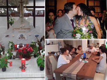 Florin Salam a lipsit de la comemorarea Fănicăi! Imagini în premieră cu Fane Bancheru, fostul socru al manelistului