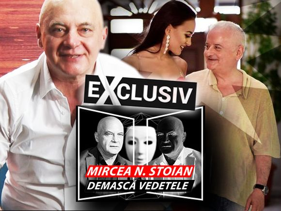 """Mircea N. Stoian demască vedetele! Concluzii şocante despre relaţia lui Irinel Columbeanu cu Oana! """"O ţine ca pe un căţeluş, în lesă, după el!"""" VIDEO EXCLUSIV!"""