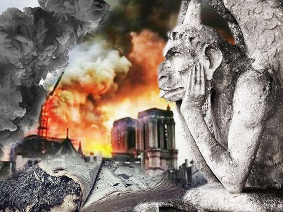 Notre-Dame, istorie în cenușă! Neputință în fața focului care a distrus simbolul Franței